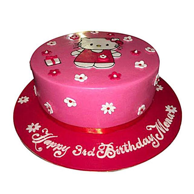 Lovely kitten Cake