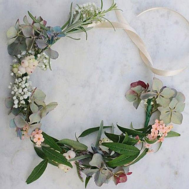 Pretty Floral Tiara