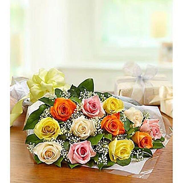 One Dozen Roses:Send Diwali Flowers to UAE