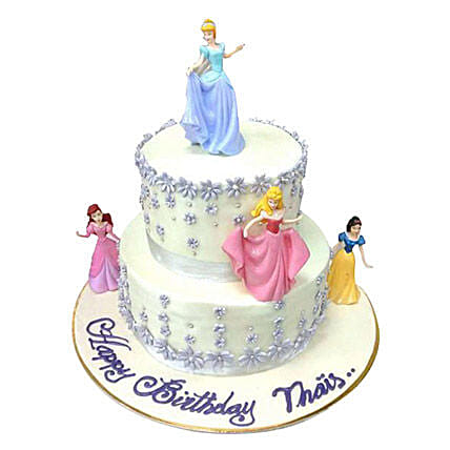 Lovely Princess Cake