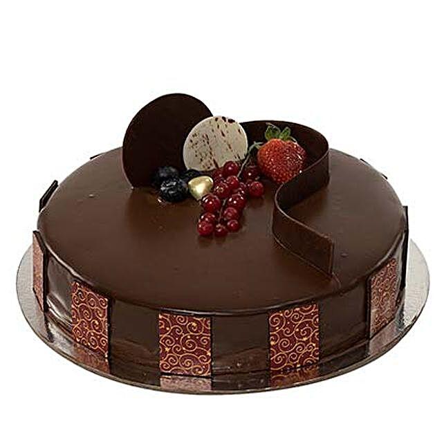 Chocolate Truffle Diwali Cake:Send Diwali Cakes to UAE