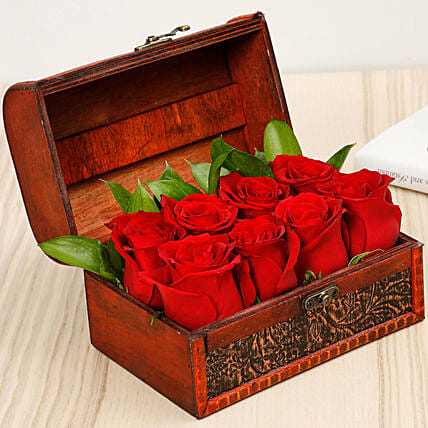 Treasured Roses:Women's Day Gift Delivery in UAE