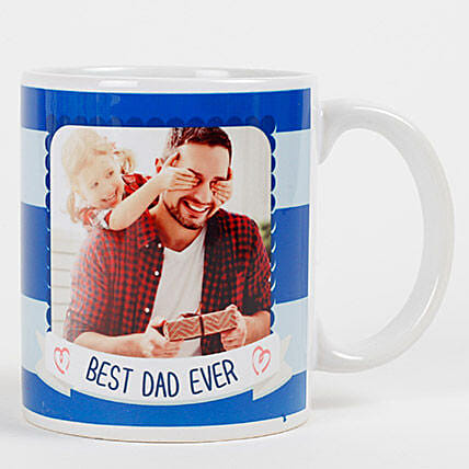 Personalized Mug for Best Dad Ever:Personalized Gifts Dubai UAE