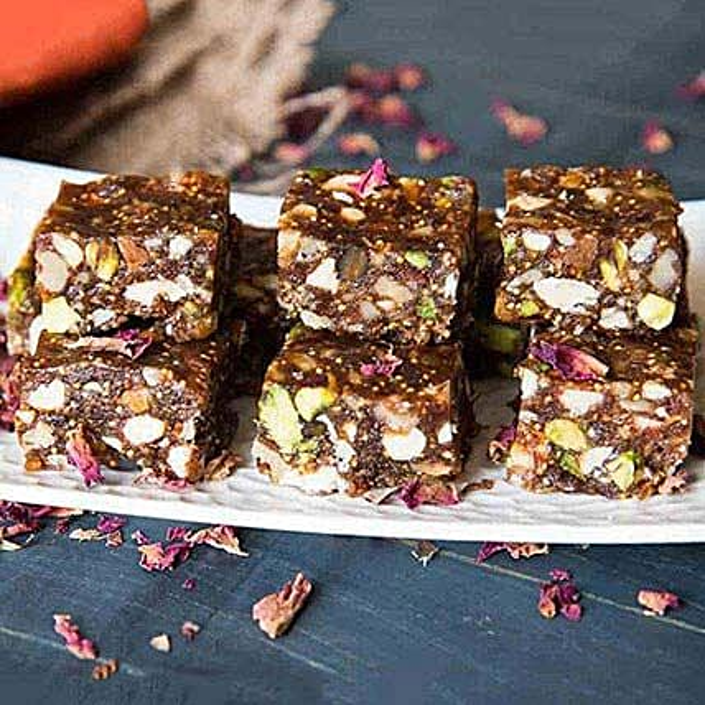 Healthy Anjeer Dry Fruits Barfi:Send Diwali Sweets to UAE