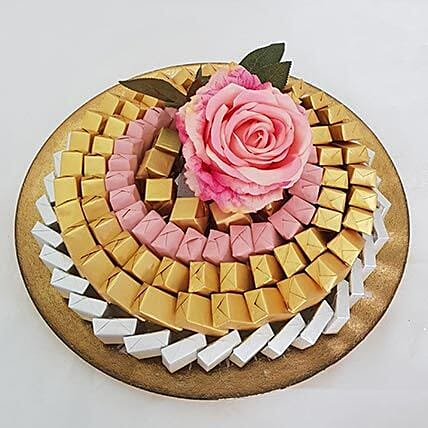 Silver and Golden Chocolate Tray