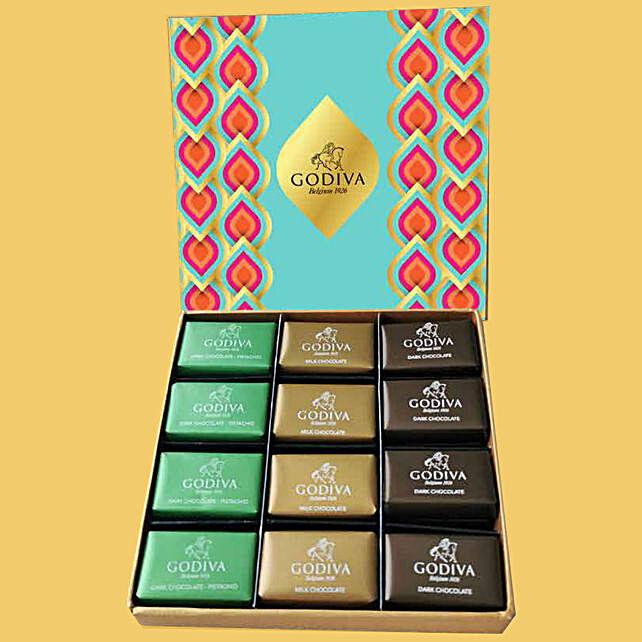 Delicious Godiva Pralines 24 Pcs:Send Diwali Chocolates to UAE