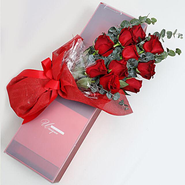 Magical Red Roses Box