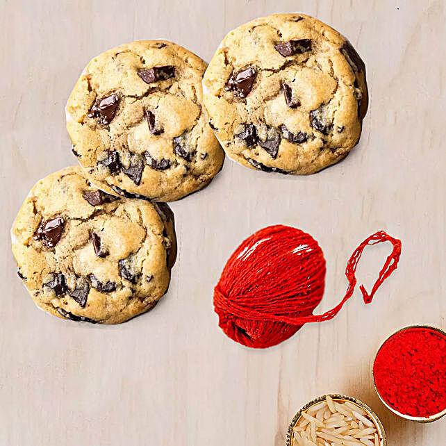 Choco Chip Cookies for Bhaidooj