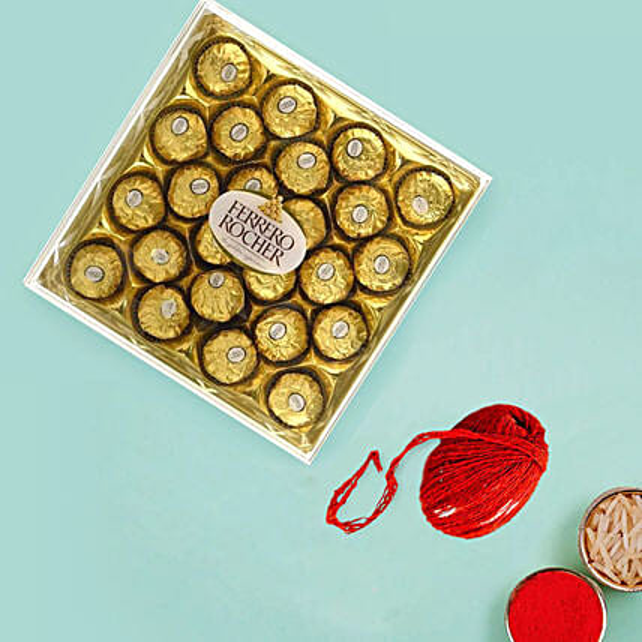 Ferrero Rocher for Bhaidooj:Send Bhai Dooj Gifts to UAE