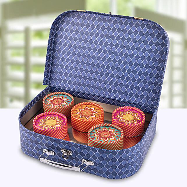 Assorted Dry Fruits Suitcase:Send Bhai Dooj Dry Fruits to UAE
