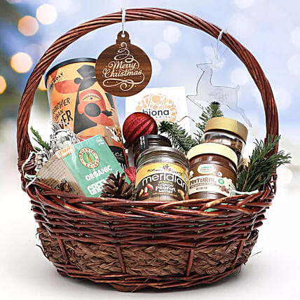 Gourmet Holiday Wishes Gift Basket