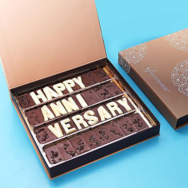 Happy Anniversary Chocolate:Best Chocolates in Dubai, UAE