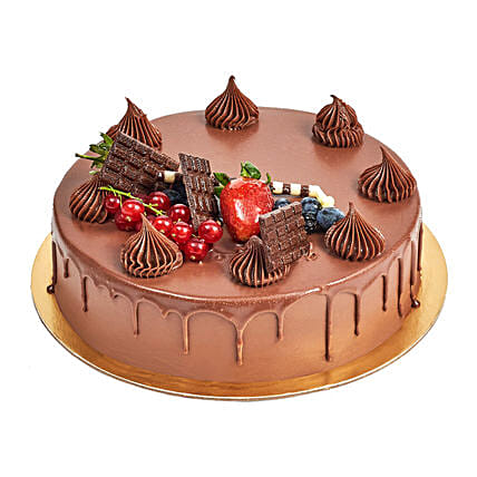4 Portion Fudge Cake:Send New Year Gifts to UAE