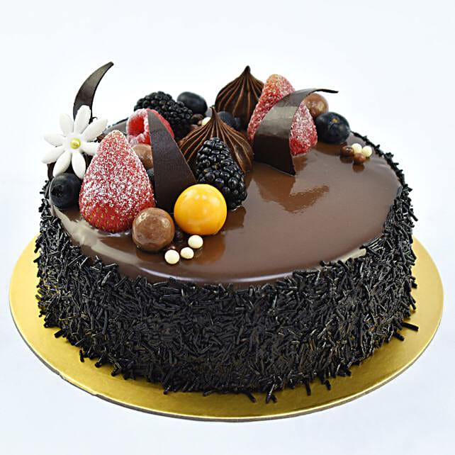 Four Portion Fudge Cake