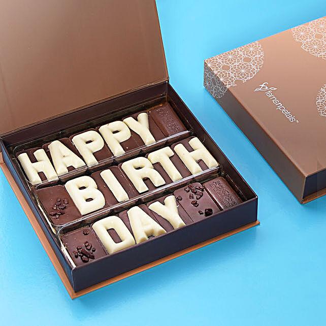 Happy Birthday Chcocolate