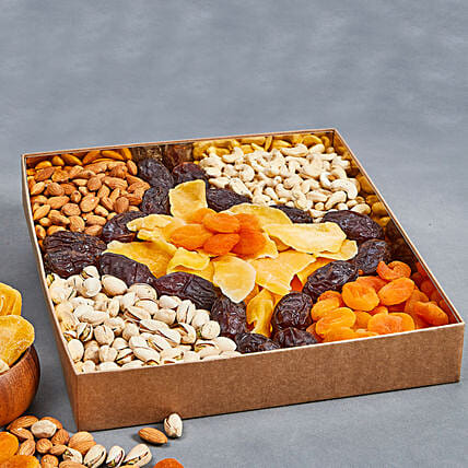 Assorted Healthy Delights:Dry Fruits Hampers in UAE