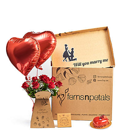 Box Full Of My love For you:Balloons