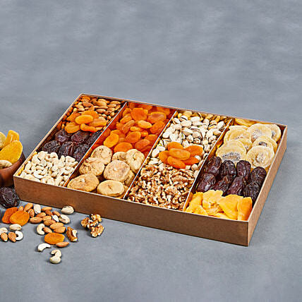 Its Dried and Dry Bites Box:Dry Fruits Hampers in UAE