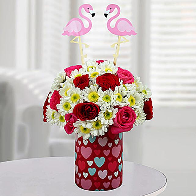 Zesty Floral Arrangement