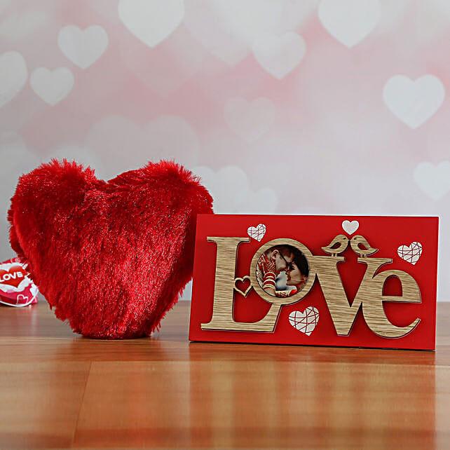 Beautiful Heart And Frame Set