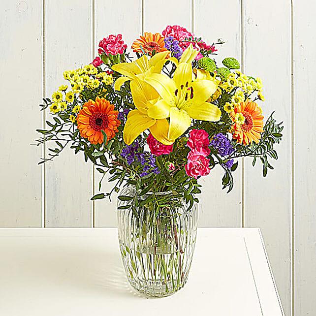 Beautiful Orange Germini Bouquet