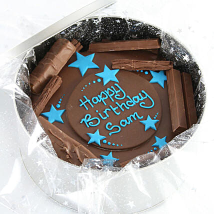 Birthday Stars Cake In-A-Tin