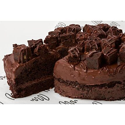 Brownie Fudge Cake:Order  Cakes to UK