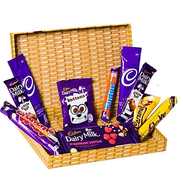 Cadbury Box:Chocolate Delivery in London UK