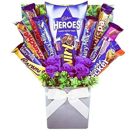 Cadbury Heroes Chocolate Bouquet