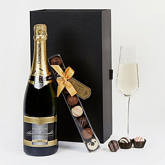 Champagne And Truffles Premiun Hamper