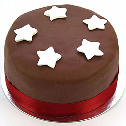 Chocolate Star Cake Egg Free