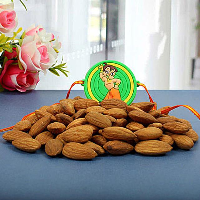 Chota Bheem Almond Nuts Rakhi Hamper
