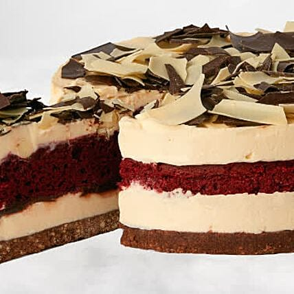 Christmas Red Velvet Cheesecake:Christmas Cakes to UK