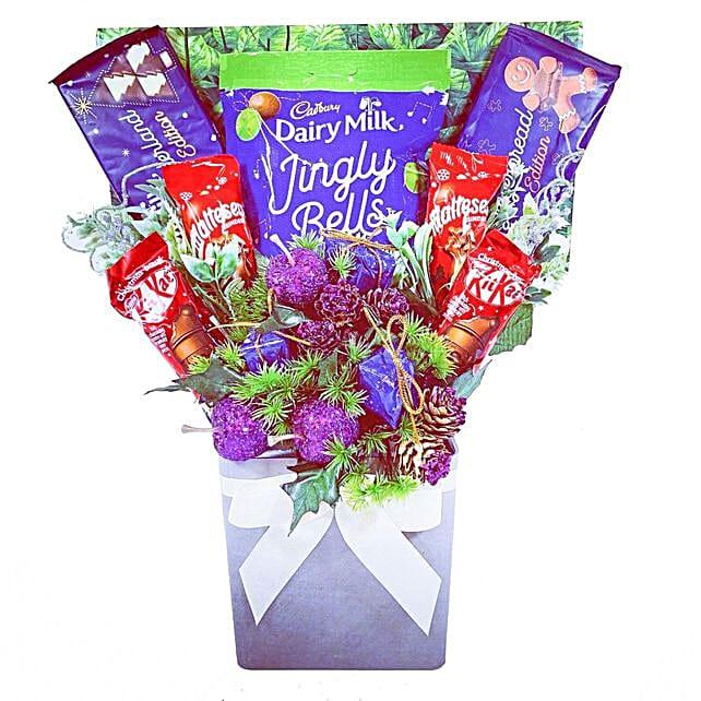 Christmas Treats Chocolate Bouquet