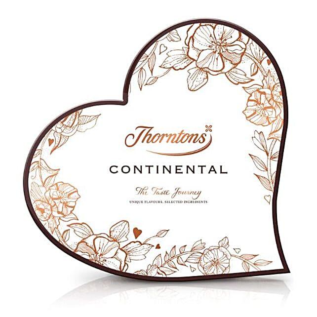Continental Heart Chocolates Box