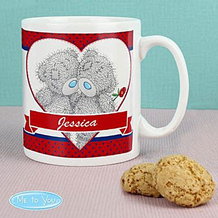 Cute Couple Personalized Mug:Send Birthday Personalised Gifts to UK