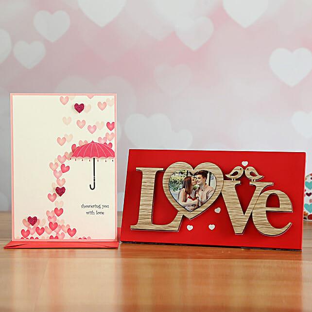 Cute Love Frame Gift Set
