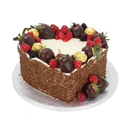 Desire Heart Cake:Send Valentines Day Gifts to UK