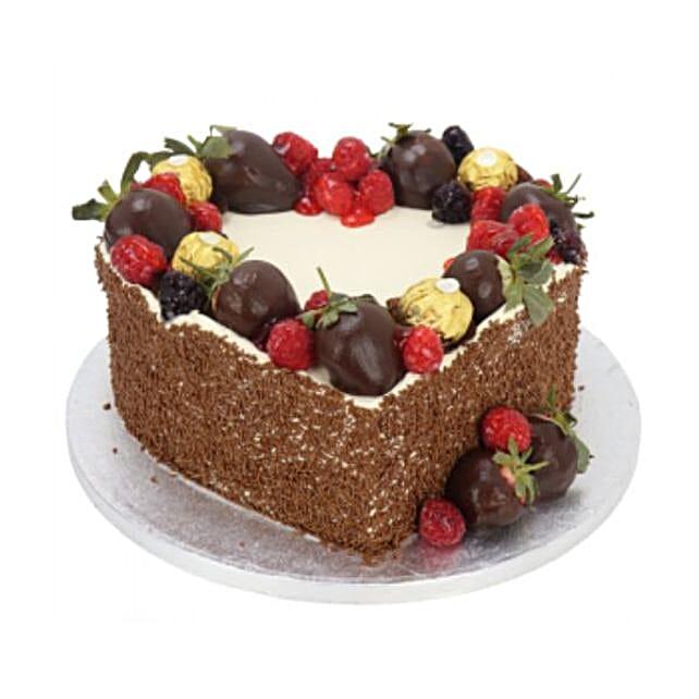 Desire Heart Cake:Valentine Cake Delivery in UK