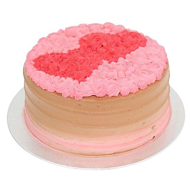 Duo Heart Cake