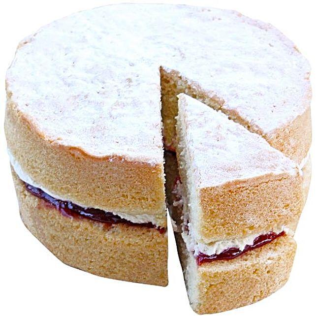 Fluffy Victoria Sponge Cake