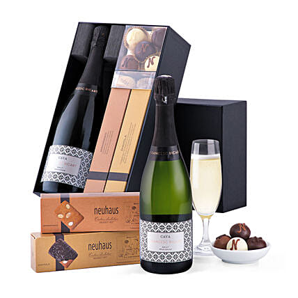 Francesc Ricart Cava And Neuhaus Chocolates