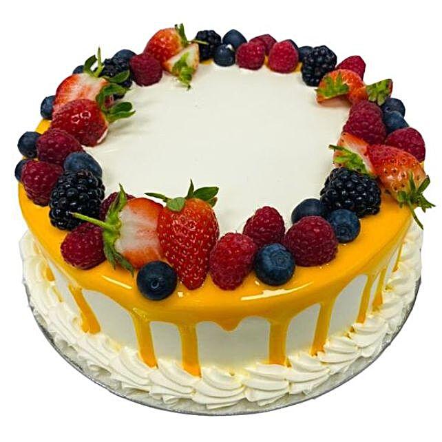 Fruits Punch Cake