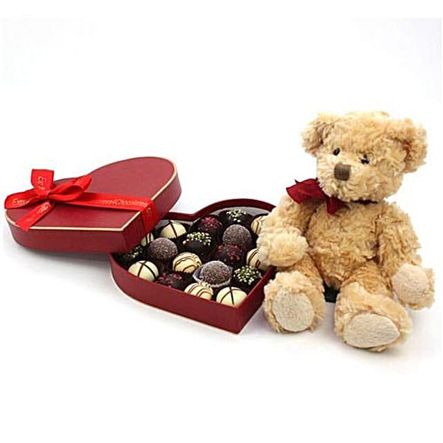Love Bear Chocolate Gift Box
