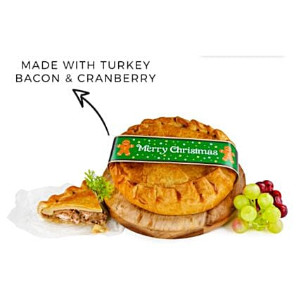 Merry Christmas Luxurious Mince Meat Pie