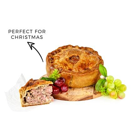 Merry Christmas Luxurious Pork Pie