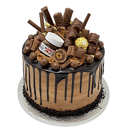 Naughty Nutella Temptation Cake Tower