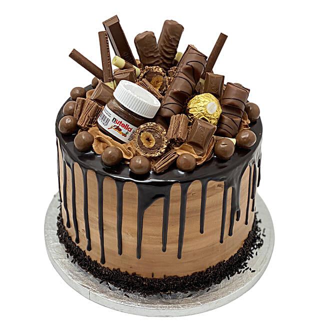 Naughty Nutella Temptation Cake Tower