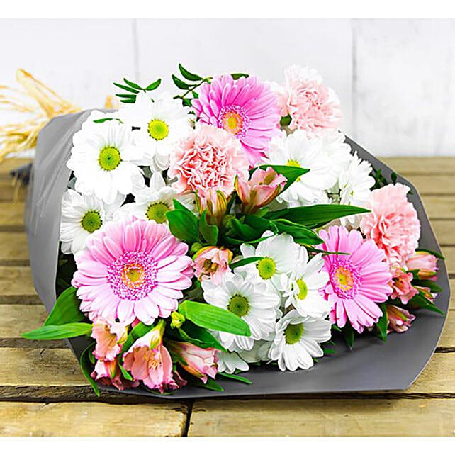 Opulent Chrysanthemums Bunch