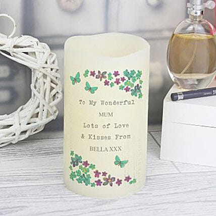 Personalized Pure Love Led Candle